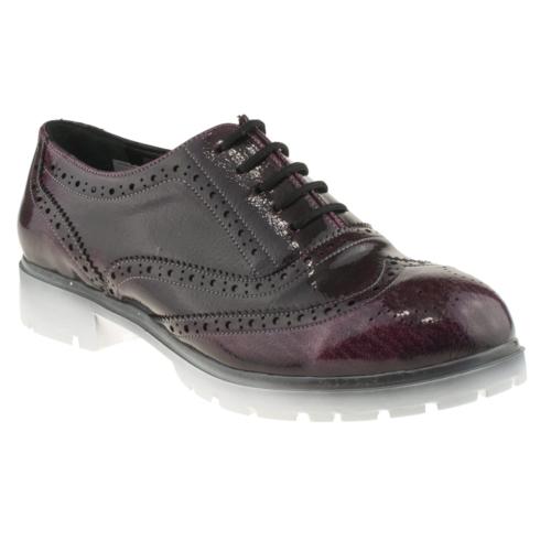 Gess Oxford Bordo Kadın Ayakkabı