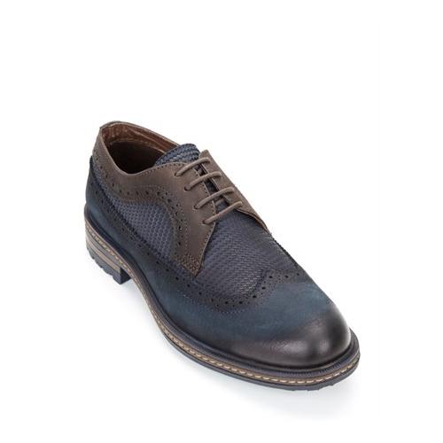 Hammer Jack Erkek Nubuk Lacivert Günlük Ayakkabı 102 15650-M