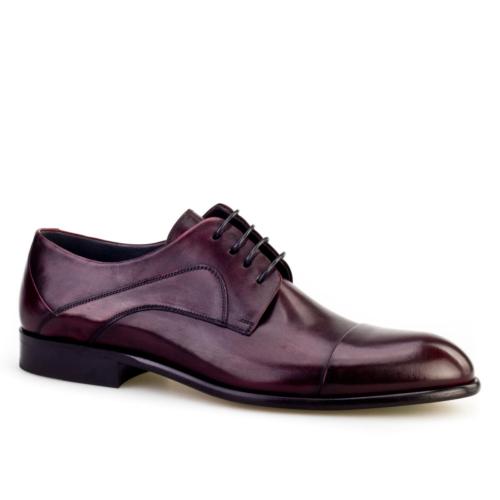 Cabani Bağcıklı Klasik Erkek Ayakkabı Bordo