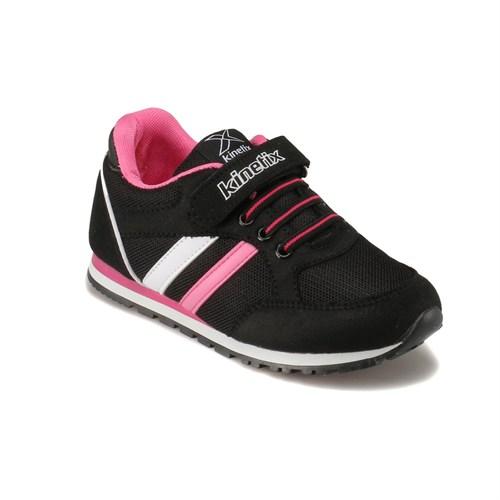 Kinetix 1238205 Siyah Fuşya Beyaz Kız Çocuk Sneaker