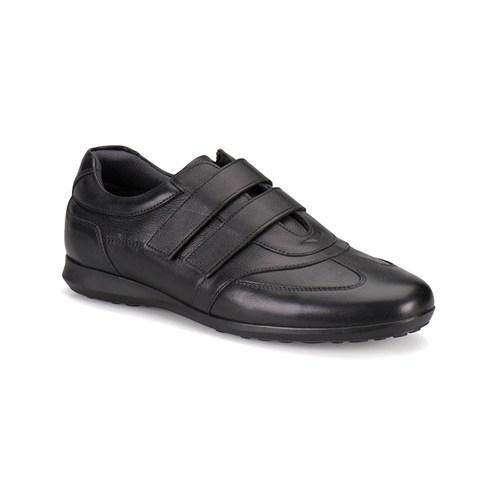 Flogart 501 M 1300 Siyah Erkek Deri Ayakkabı