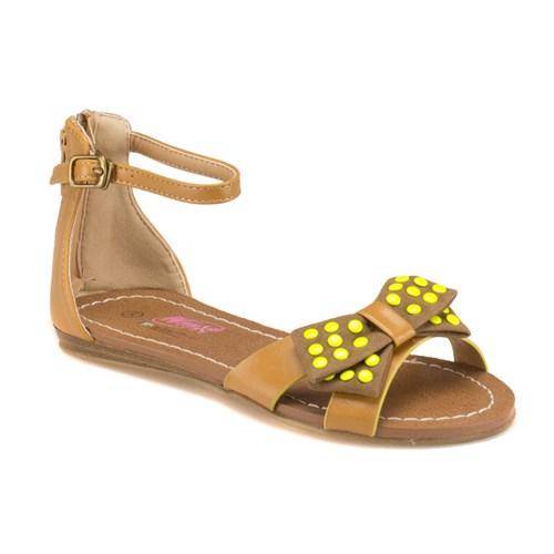 Winx 240886 Taba Sarı Kız Çocuk Sandalet