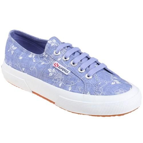 Superga 2750-Cotw Fabrıc 24 Mavi Kadın Sneaker