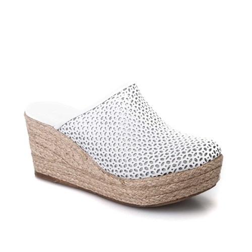 Cabani Kadın Ayakkabı Beyaz Deri