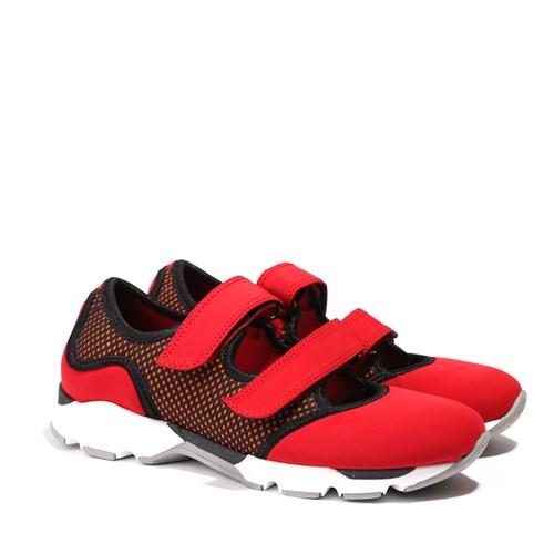 İlvi Scott 15012 Kırmızı Spor Ayakkabı