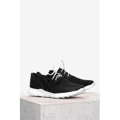 İlvi Clart 5370 Siyah Spor Ayakkabı