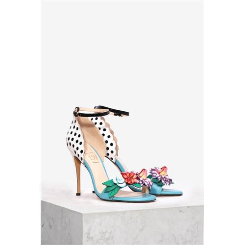 İlvi Kamelia 37573 Mavi Multi Sandalet