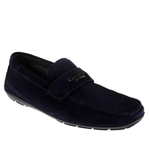 Andy Calvin Klein 5171/Acc Erkek Ayakkabı Suede Blue
