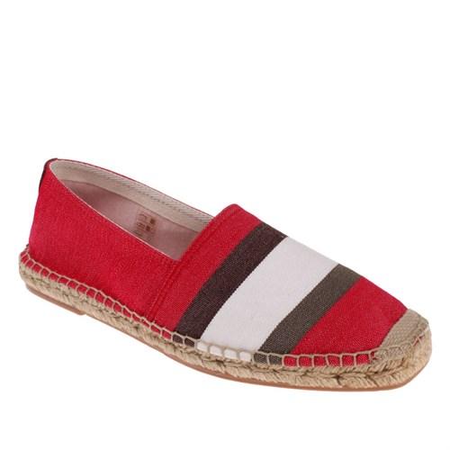 Frau Stripe 39J3 Erkek Ayakkabı Rosso