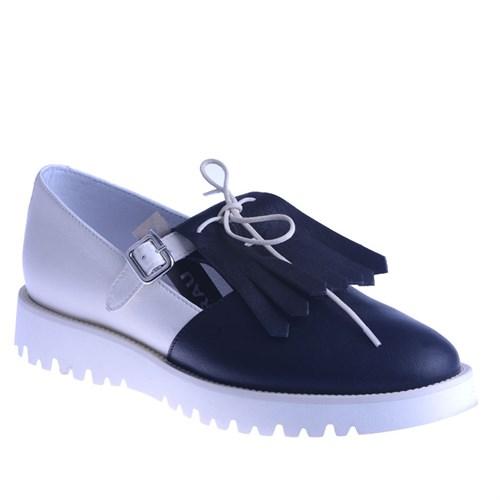 Frau Talco 93N4 Kadın Ayakkabı Nero/Burro