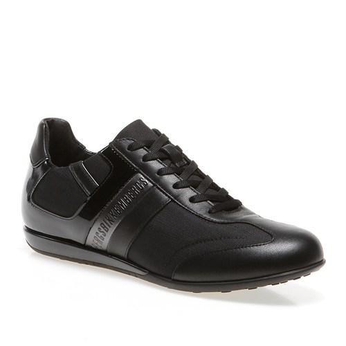 Bikkembergs R-Evolution 407 L.Shoe M Bke107352 Erkek Ayakkabı Leather/Fabrıc Black