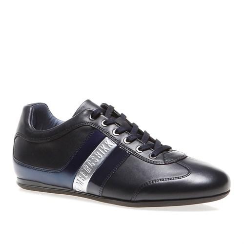 Bikkembergs Springer 194 L.Shoe M Bke107441 Erkek Ayakkabı Leather Blue