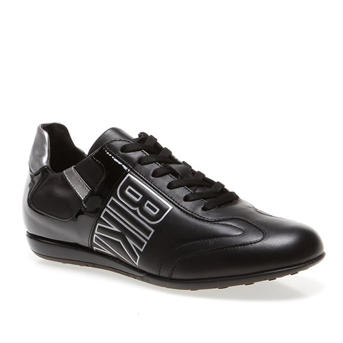 Bikkembergs R-Evolution 186 L.Shoe M Bke107418 Erkek Ayakkabı Leather/Patent Black