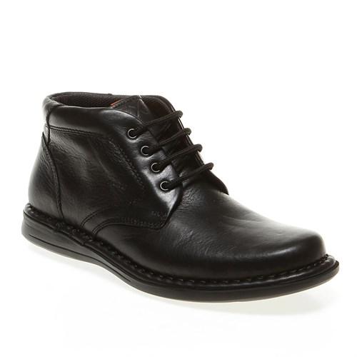 Frau Safari 38M2 Erkek Ayakkabı Siyah