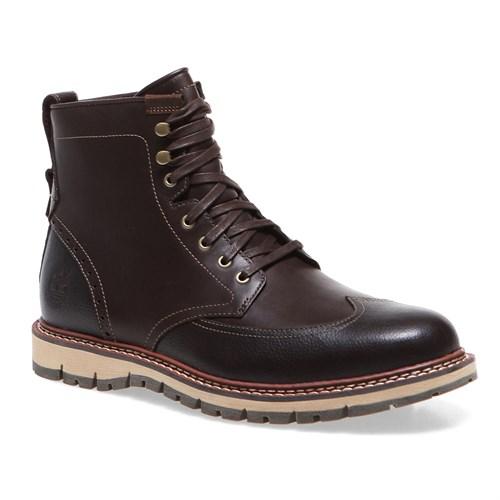 Timberland Wing Boot Wp 5445A Erkek Bot Dark Brown Smooth