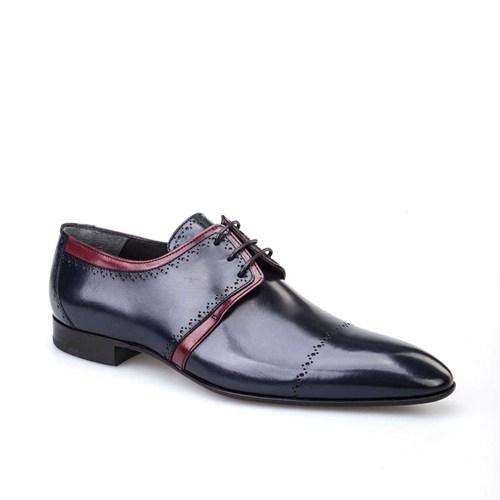Cabani Erkek Ayakkabı Lacivert Deri