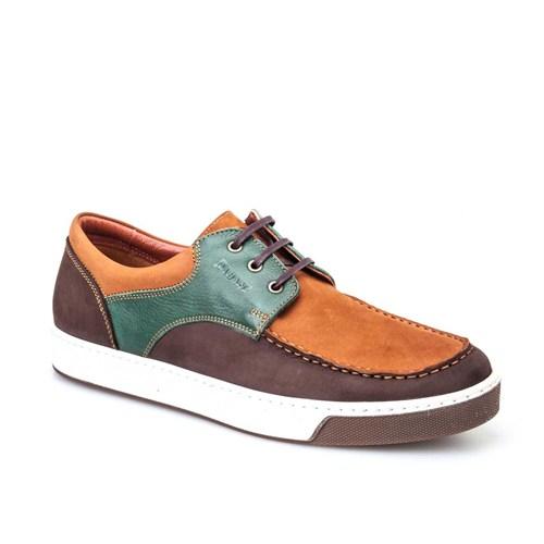 Cabani Günlük Erkek Ayakkabı Kahverengi Nubuk