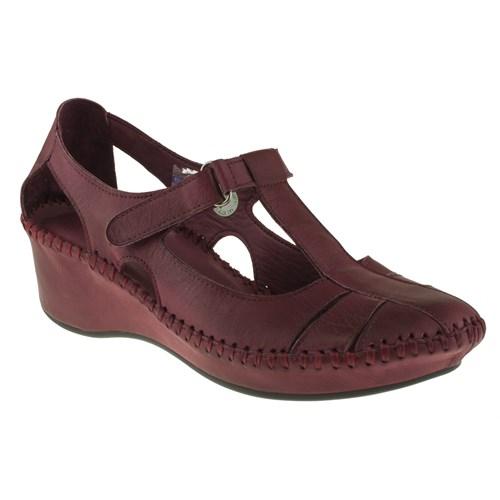 Greyder 99 6Y2cs50231 Bordo Sandalet
