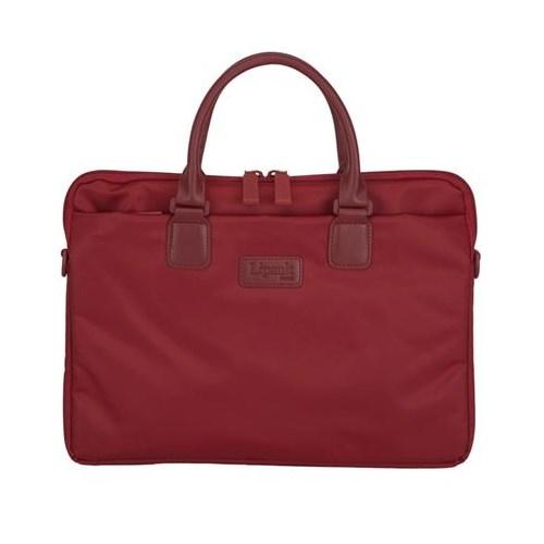 Lipault Lady Plume Laptop Çantası 15 Kırmızı
