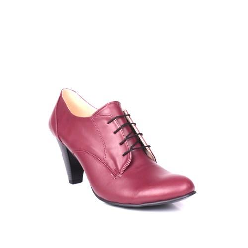 Loggalin 375118 031 626 Kadın Bordo Günlük Ayakkabı