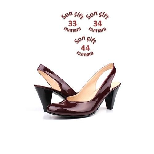 Loggalin 375100 031 620 Kadın Bordo Günlük Ayakkabı