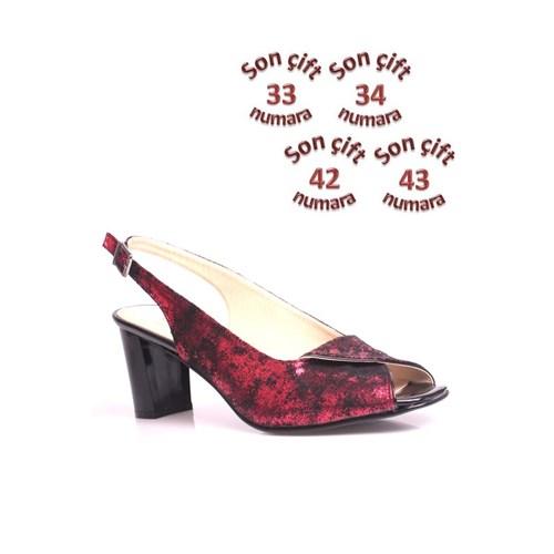 Loggalin 375029 031 561 Kadın Kırmızı Günlük Ayakkabı