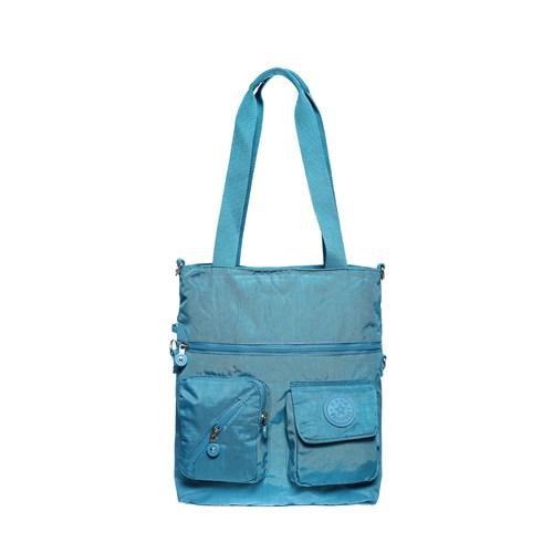 Barcelona K21 Omuz Çantası Brc1080-0031 Mavi