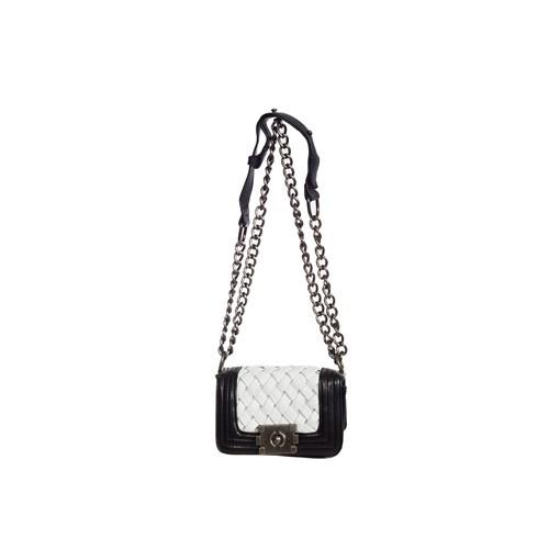 Gnc Bag Omuz Çantası Gnc6014-0002 Siyah-Beyaz