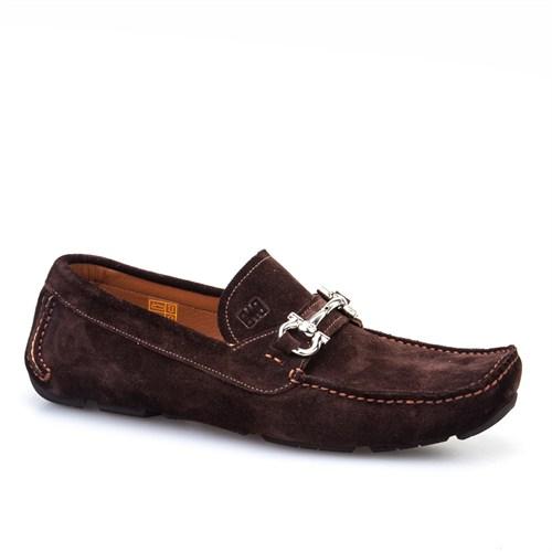 Cabani Tokalı Günlük Erkek Ayakkabı Kahve Süet