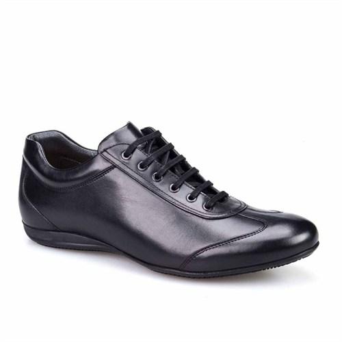 Cabani Günlük Erkek Ayakkabı Siyah Deri