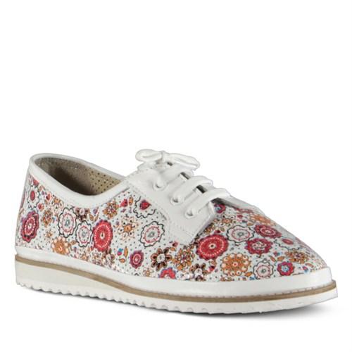 Marjin Acone Düz Ayakkabı Beyaz