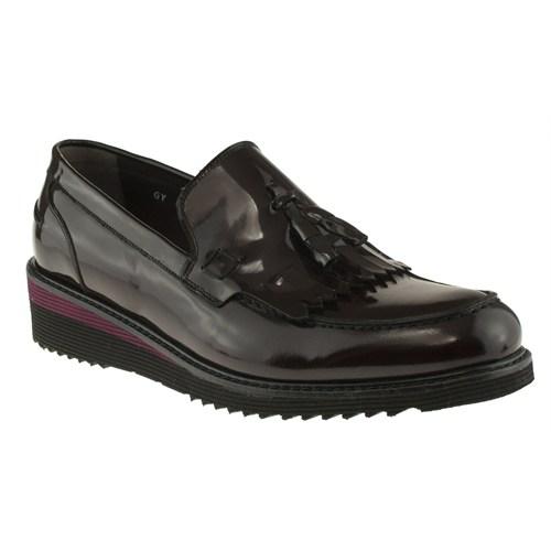 Fosco 248 6106M Bordo Ayakkabı