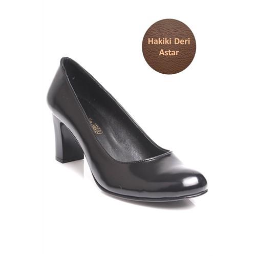 Loggalin 375107 031 022 Kadın Siyah Açma Ayakkabı