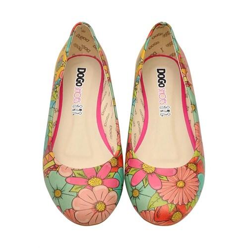 Dogostore Floral Ayakkabı