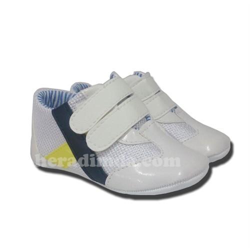 Bebek Patik Beyaz-Sarı Sanbe Patik 302F1807