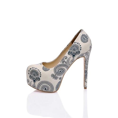 Los Ojo Greenflor Topuklu Ayakkabı