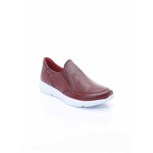 Shoes&Moda Bordo Kadın Ayakkabı 509-1016-1501062