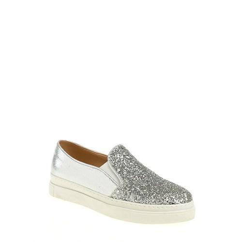Derigo Kadın Casual Ayakkabı Gümüş