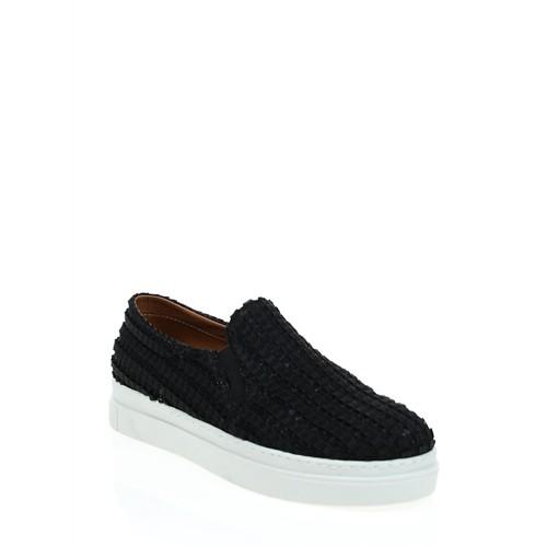 Derigo Kadın Casual Ayakkabı Siyah