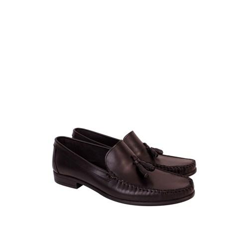 Erkan Kundura Siyah Klasik Erkek Ayakkabı - 7005