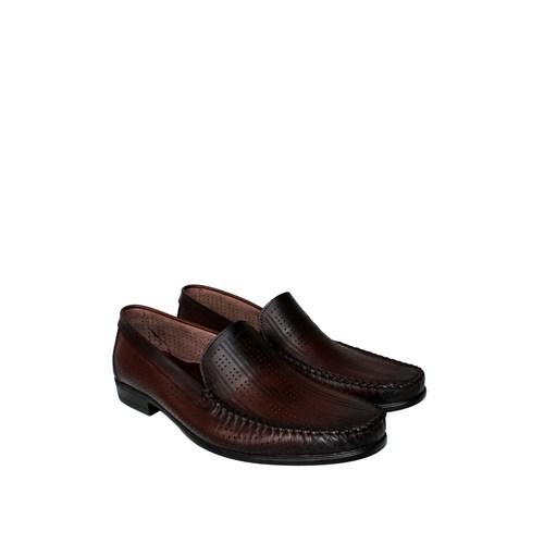 Erkan Kundura Kahverengi Klasik Erkek Ayakkabı - 7000