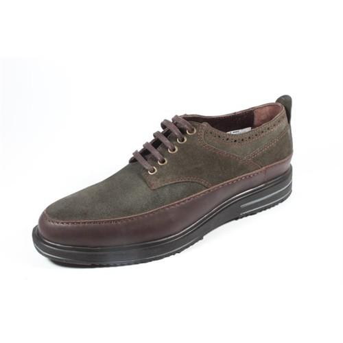Pablo 490 Yeşil Kahverengi Erkek Ayakkabı