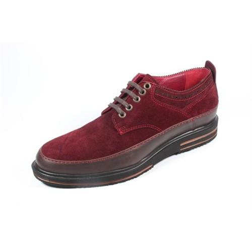 Pablo 490 Bordo Kahverengi Erkek Ayakkabı