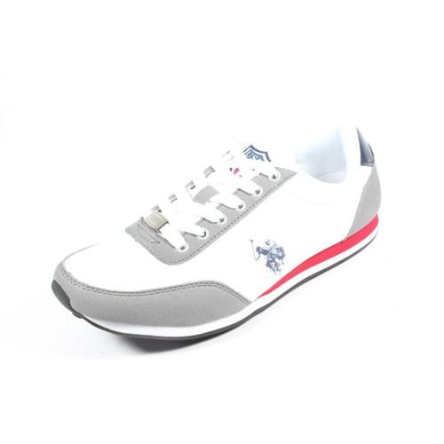 U.S. Polo 255157 Pacific Beyaz Erkek Ayakkabı