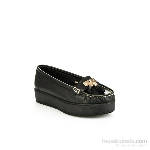Bambi Kadın Ayakkabı Siyah