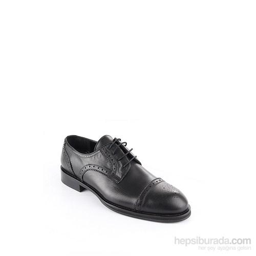 Gön 88598 Siyah Deri Erkek Ayakkabı