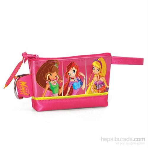 Winx Kızları El Çantası (Yaygan) Pembe Renkli