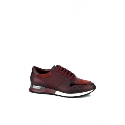 Elle 15Ktp1586 Erkek Ayakkabı - Bordo Kombin