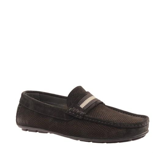 Cabani Makosen Günlük Erkek Ayakkabı Siyah Süet
