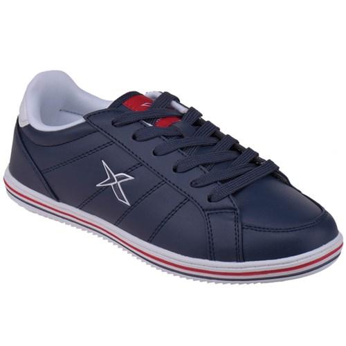 Kinetix 1231869 Lacivert Beyaz Kırmızı Erkek Çocuk Sneaker